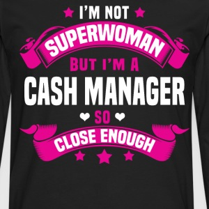Cash Manager Tshirt - Men's Premium Long Sleeve T-Shirt