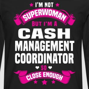 Cash Management Coordinator Tshirt - Men's Premium Long Sleeve T-Shirt