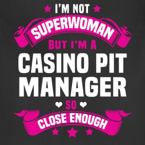 Casino Pit Manager Tshirt - Adjustable Apron