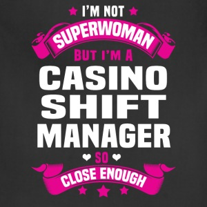 Casino Shift Manager Tshirt - Adjustable Apron