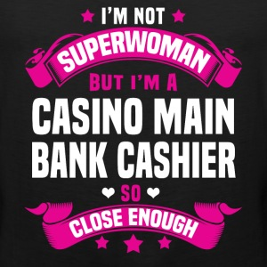 Casino Main Bank Cashier Tshirt - Men's Premium Tank