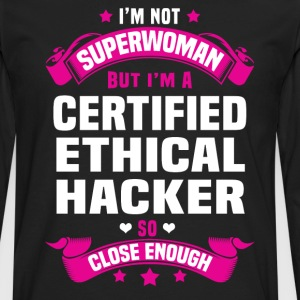 Certified Ethical Hacker Tshirt - Men's Premium Long Sleeve T-Shirt