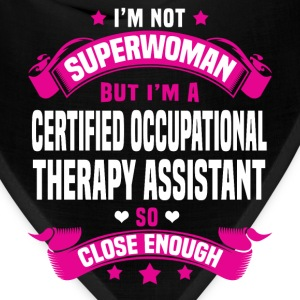 Certified Occupational Therapy Assistant Tshirt - Bandana