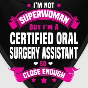 Certified Oral Surgery Assistant Tshirt - Bandana