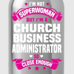 Church Business Administrator Tshirt - Water Bottle