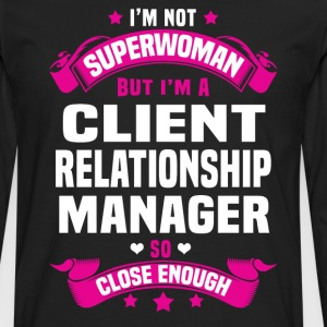 Client Relationship Manager Tshirt - Men's Premium Long Sleeve T-Shirt