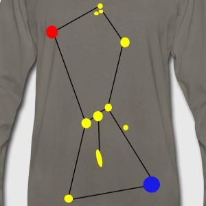 Orion Constellation with Nebula - Men's Premium Long Sleeve T-Shirt