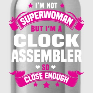 Clock Assembler Tshirt - Water Bottle