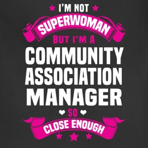 Community Association Manager Tshirt - Adjustable Apron
