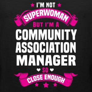 Community Association Manager Tshirt - Men's Premium Tank