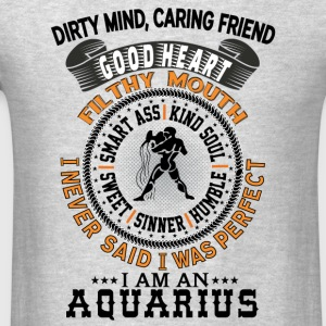I AM AN AQUARIUS Hoodies - Men's T-Shirt