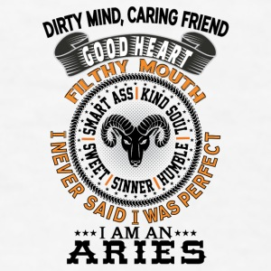 I AM AN ARIES Mugs & Drinkware - Men's T-Shirt