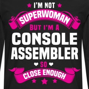 Console Assembler Tshirt - Men's Premium Long Sleeve T-Shirt