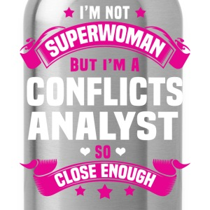 Conflicts Analyst Tshirt - Water Bottle