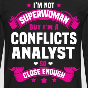 Conflicts Analyst Tshirt - Men's Premium Long Sleeve T-Shirt