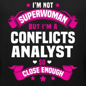 Conflicts Analyst Tshirt - Men's Premium Tank