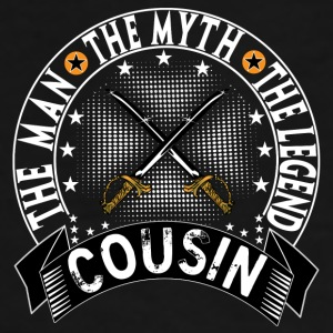 COUSIN THE MAN THE MYTH THE LEGEND Mugs & Drinkware - Men's Premium T-Shirt