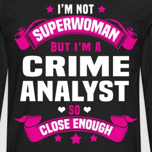 Crime Scene Cleaner Tshirt - Men's Premium Long Sleeve T-Shirt