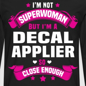 Decal Applier T-Shirts - Men's Premium Long Sleeve T-Shirt