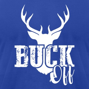 BUCK OFF Tanks - Men's T-Shirt by American Apparel