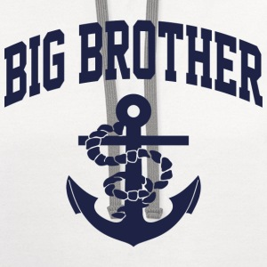 Big Brother Anchor Kids' Shirts - Contrast Hoodie