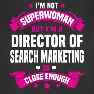 Director of Search Marketing Tshirt - Adjustable Apron