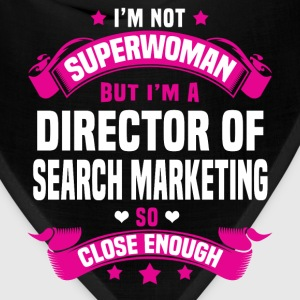 Director of Search Marketing Tshirt - Bandana