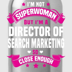 Director of Search Marketing Tshirt - Water Bottle
