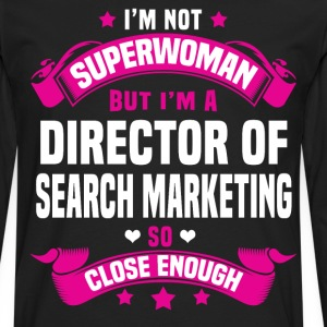 Director of Search Marketing Tshirt - Men's Premium Long Sleeve T-Shirt