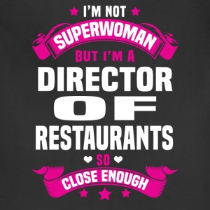 Director of Restaurants Tshirt - Adjustable Apron