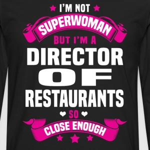 Director of Restaurants Tshirt - Men's Premium Long Sleeve T-Shirt