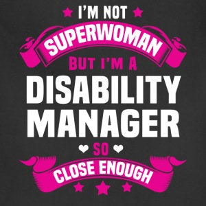 Disability Manager Tshirt - Adjustable Apron
