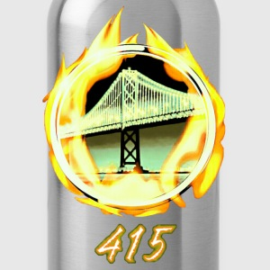 415 Hoodies - Water Bottle