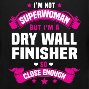 Dry Wall Finisher Tshirt - Men's Premium Tank