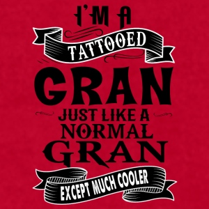 TATTOOED GRAN Mugs & Drinkware - Men's T-Shirt by American Apparel