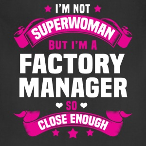 Factory Manager Tshirt - Adjustable Apron