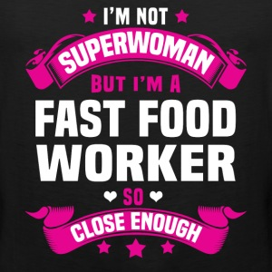 Fast Food Worker Tshirt - Men's Premium Tank
