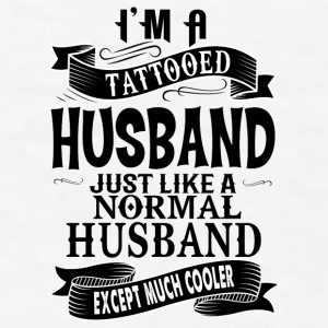 TATTOOED HUSBAND Mugs & Drinkware - Men's T-Shirt