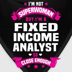 Fixed Income Analyst Tshirt - Bandana