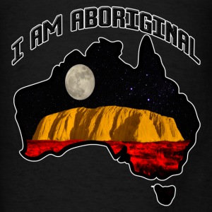 I am Aboriginal Hoodie - Men's T-Shirt