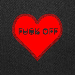 A fuck off for valentine's day - Tote Bag