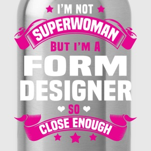 Form Designer Tshirt - Water Bottle
