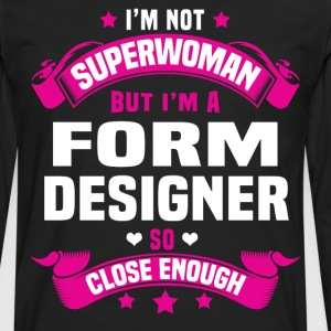 Form Designer Tshirt - Men's Premium Long Sleeve T-Shirt
