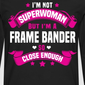 Frame Bander Tshirt - Men's Premium Long Sleeve T-Shirt