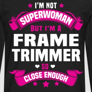 Frame Trimmer Tshirt - Men's Premium Long Sleeve T-Shirt