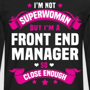 Front End Manager Tshirt - Men's Premium Long Sleeve T-Shirt