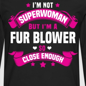 Fur Blower Tshirt - Men's Premium Long Sleeve T-Shirt