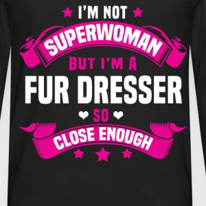 Fur Dresser Tshirt - Men's Premium Long Sleeve T-Shirt