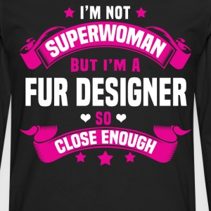 Fur Designer Tshirt - Men's Premium Long Sleeve T-Shirt