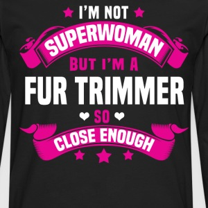 Fur Trimmer Tshirt - Men's Premium Long Sleeve T-Shirt